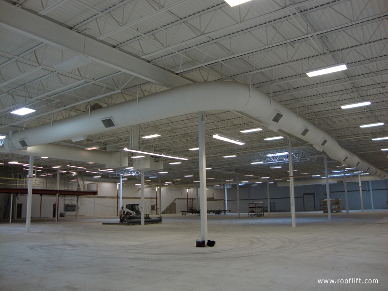 Industrial Roof Lifting – Space Technology Inc – Case